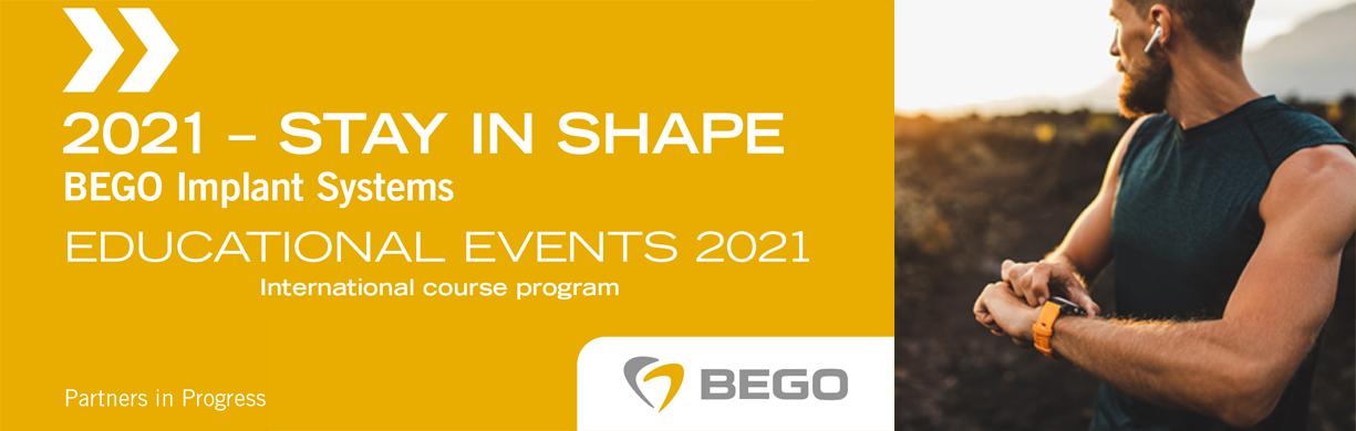 Εκπαιδευτικές Δραστηριότητες 2021 Bego Implant Systems